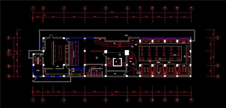 08酒吧设计施工图
