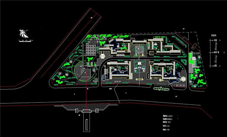 09休闲广场概念规划平面图