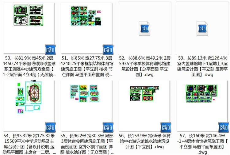 09体育馆总平面图