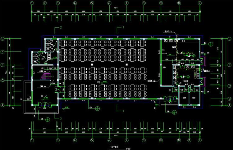 09公司食堂建筑施工图