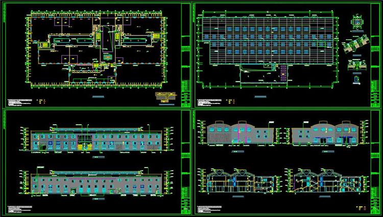 09厂房CAD设计方案图