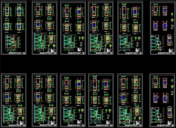 09各式各样混凝土楼梯