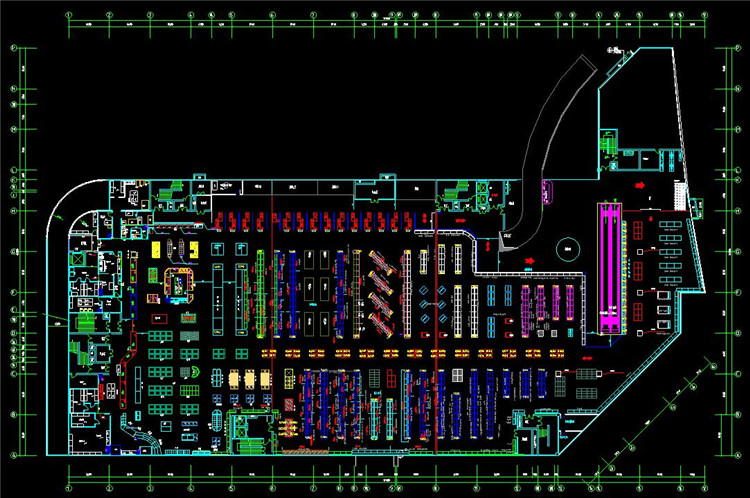 09商场平面图