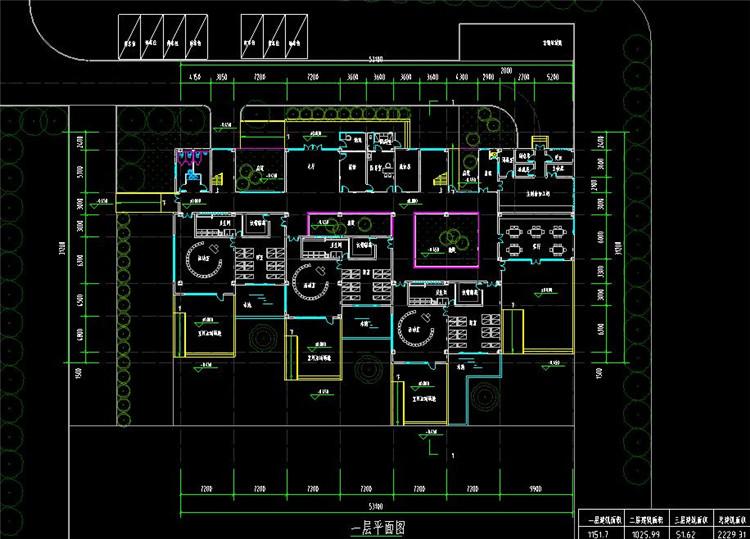09幼儿园CAD图纸3