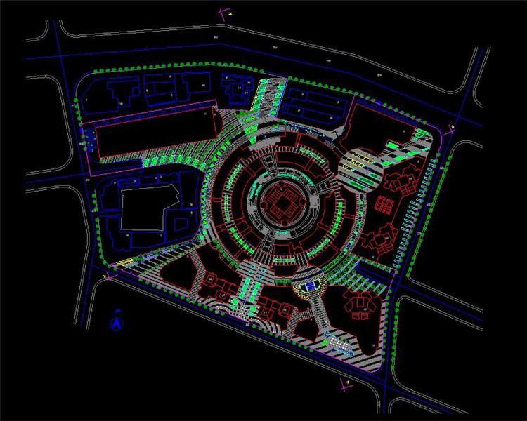 09广场设计方案图