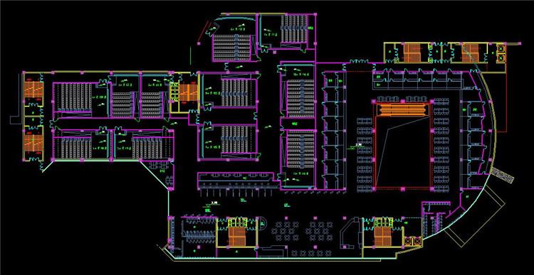 09影厅CAD设计图纸