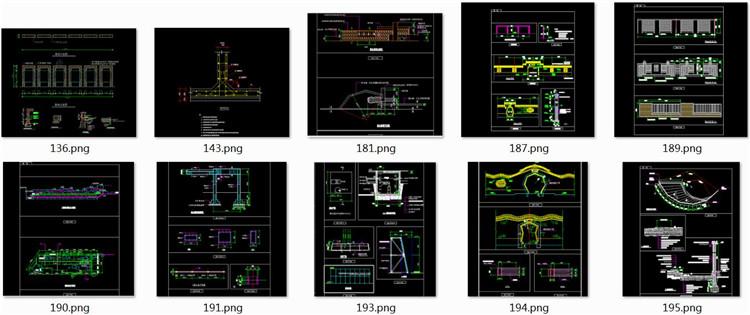 09景墙施工图