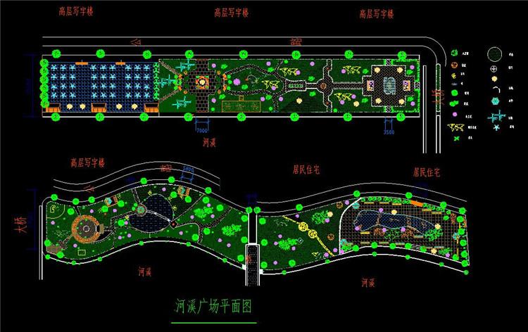 09河岸景观设计图