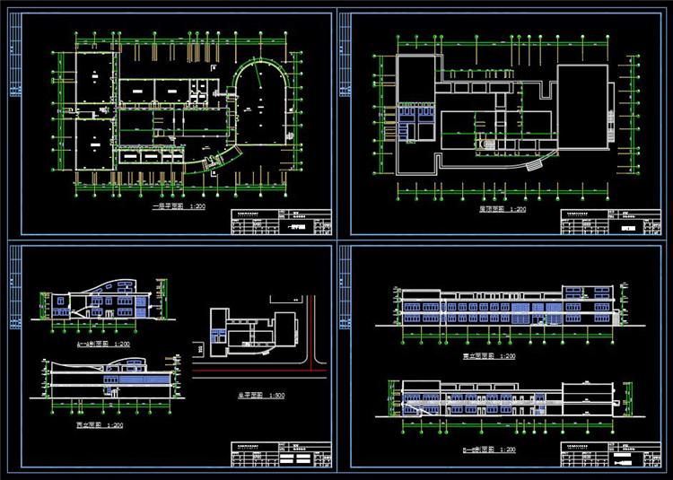 09活动中心建筑图