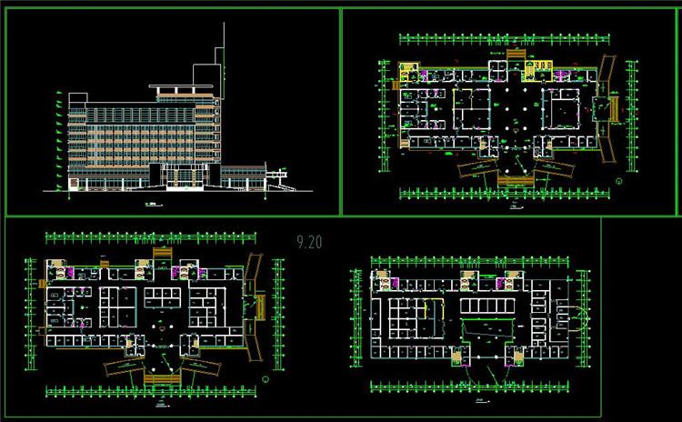 09病房楼平面图