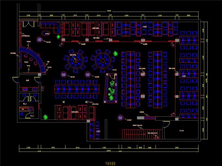 09网吧设计装修施工图