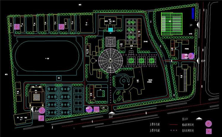 09职教中心校园扩建方案图