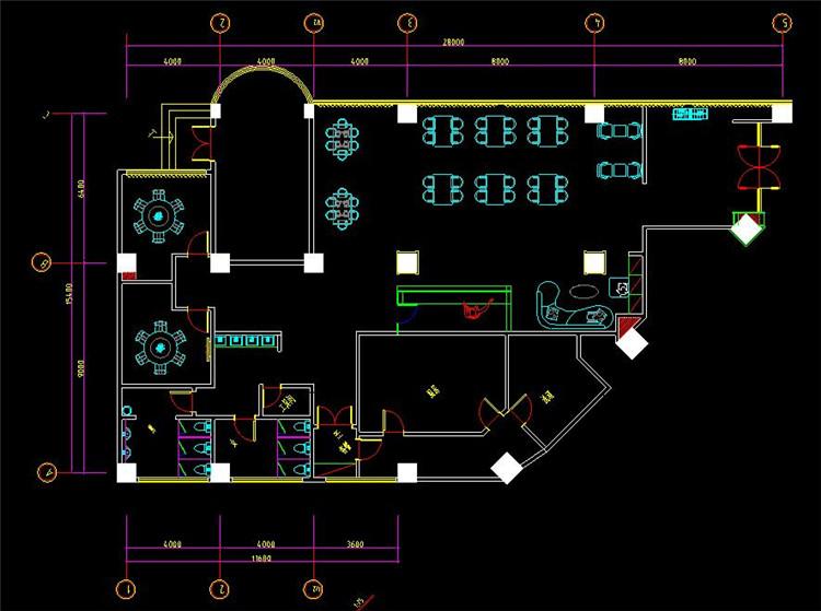 09茶室CAD方案图