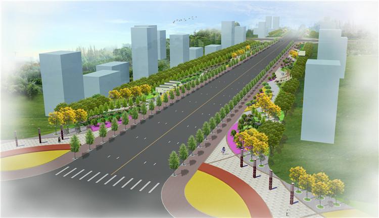 09道路景观SU模型7
