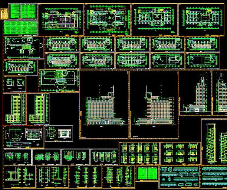 10医院平面设计图