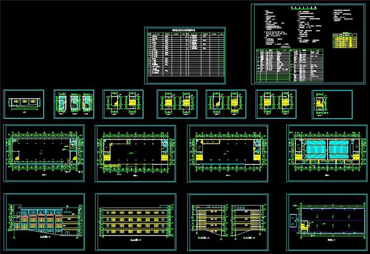 10医院CAD平面图
