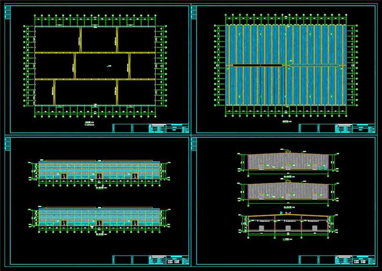 10厂房平立剖面图