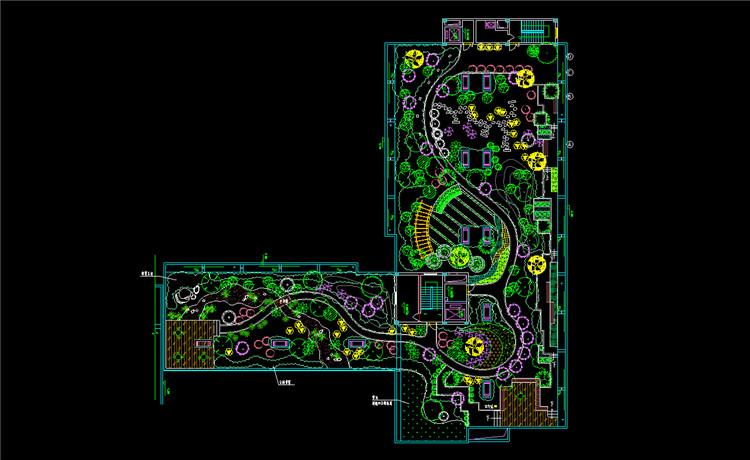 10屋顶花园CAD图纸