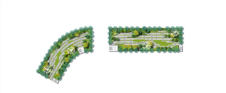 10屋顶花园PSD图片