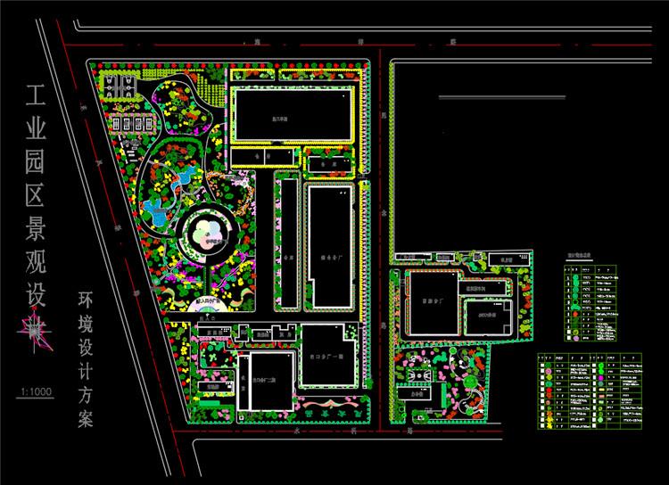 10工业园区景观设计