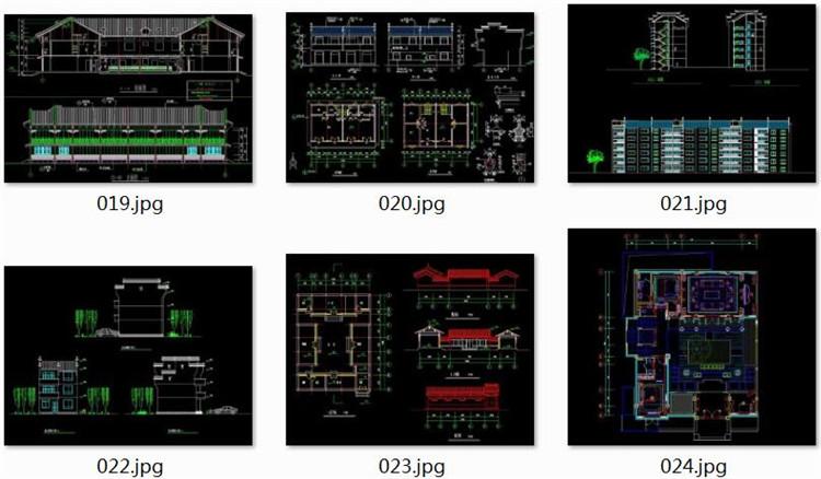 10微派建筑CAD施工图纸3