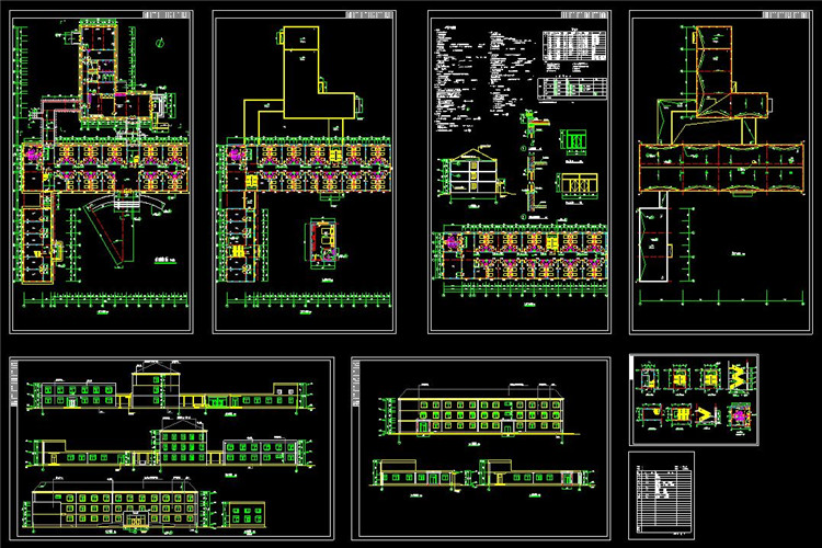 10敬老院建筑方案设计图