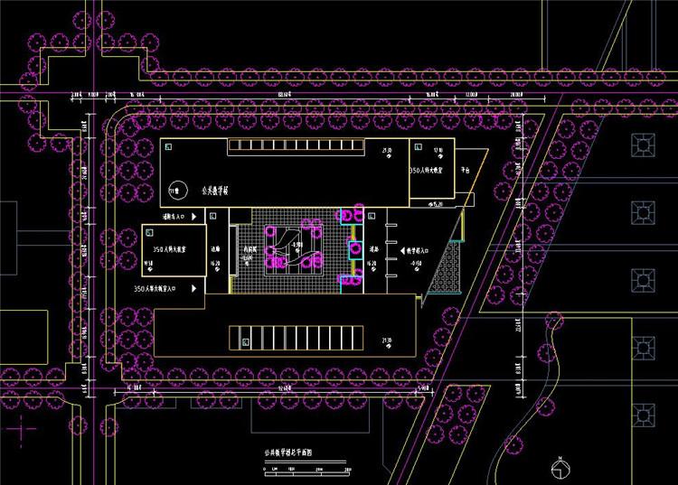 10新校区一期工程建筑单体方案设计图