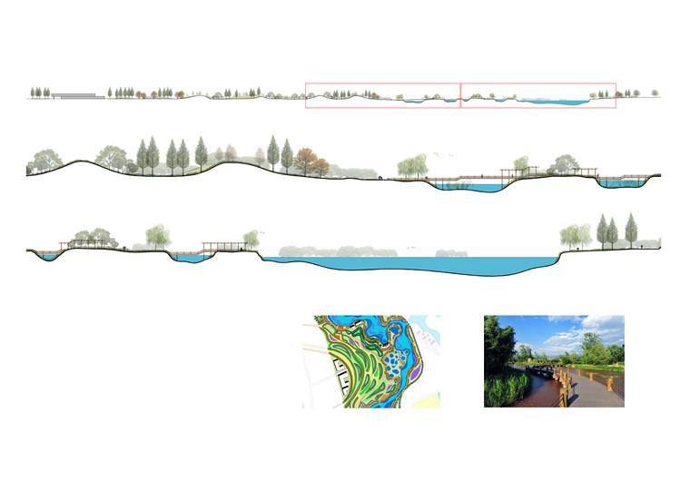 10景观剖面图PSD分层素材6