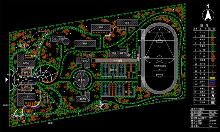 10校园规划方案图