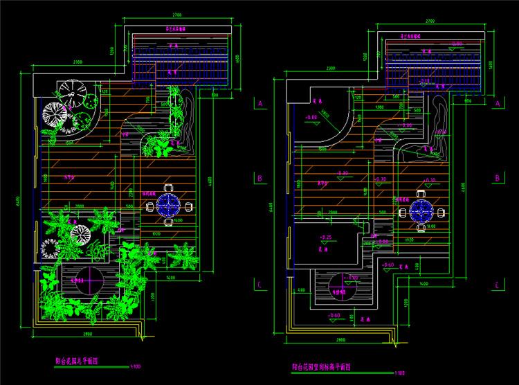 10花园CAD施工图纸