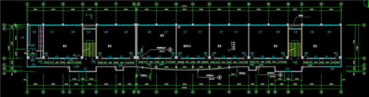 11六层教学楼CAD图纸