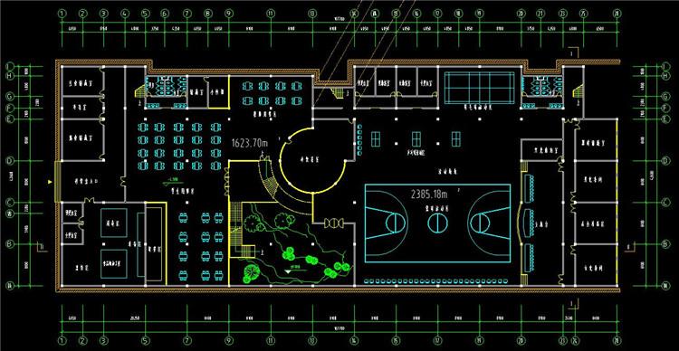 11大学CAD施工图纸2