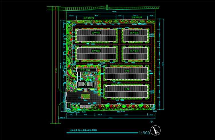 11工厂绿化设计图