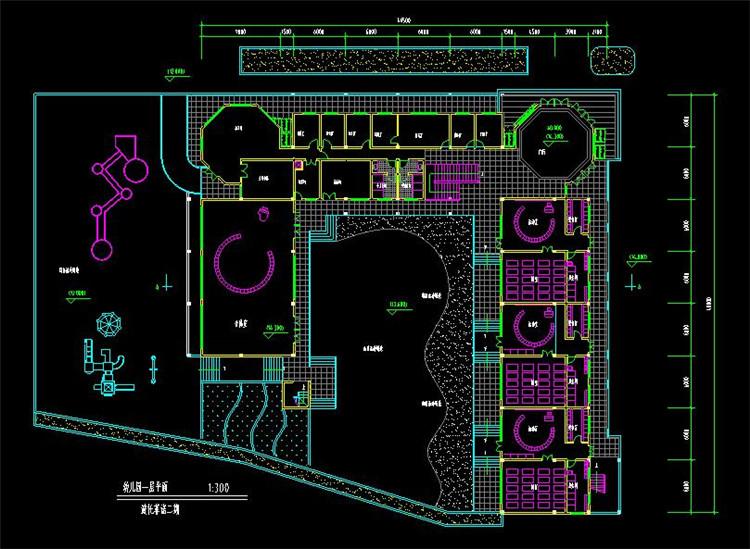 11幼儿园教学楼全套图