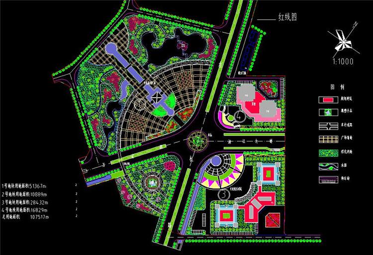 11广场设计规划图纸