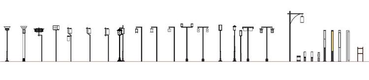 11户外灯具SU模型10