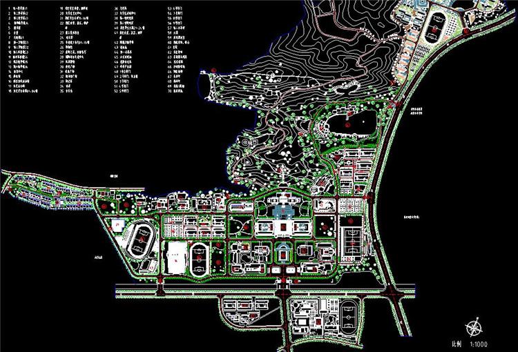 11校区平面图
