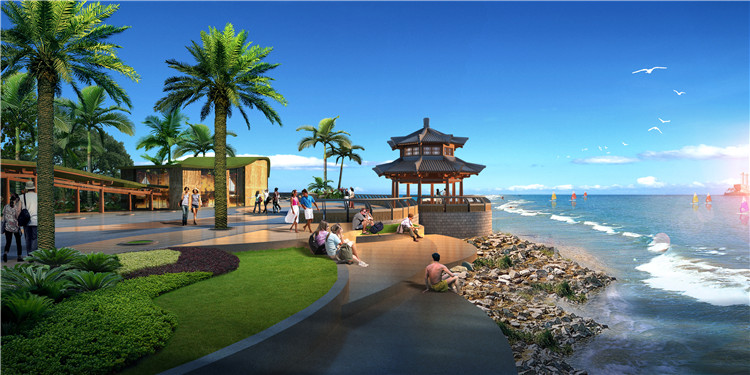 12中式水景图片