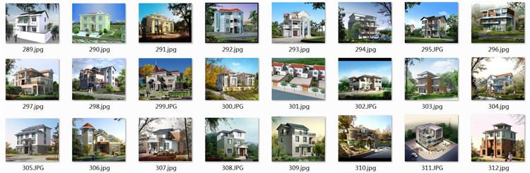 12农村住宅效果图1