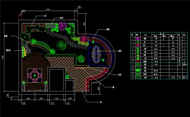 12屋顶花园景观规划图