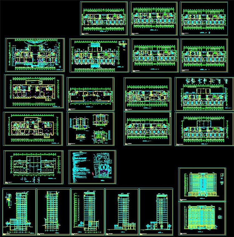 12急诊楼建筑施工图