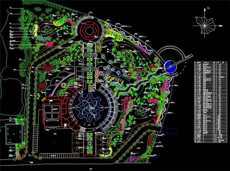 12文化广场种植平面图