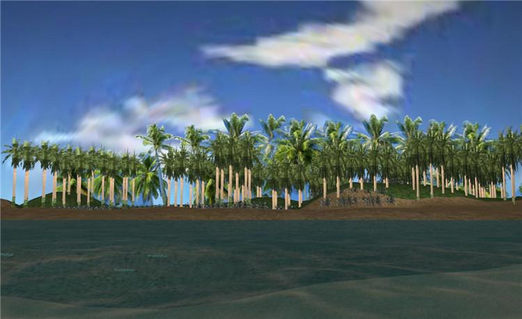 12沙滩场景模型