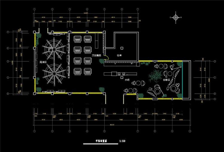 12茶室CAD布局图