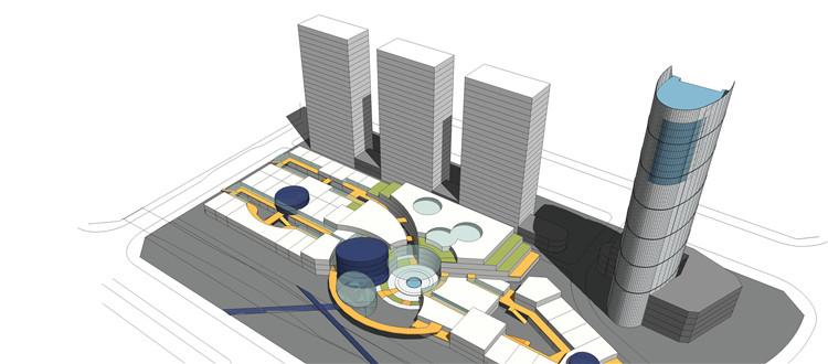 13商业广场SU模型文件