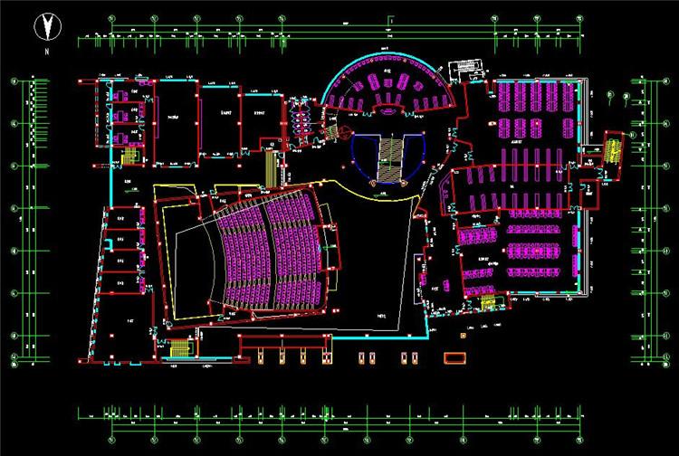 13图书馆方案设计图