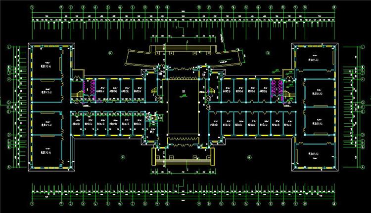 13大学CAD施工图纸4