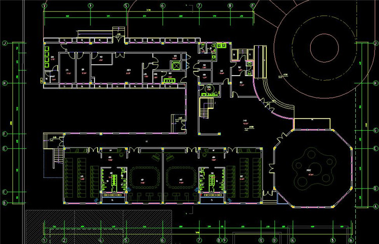 13幼儿园CAD图纸7