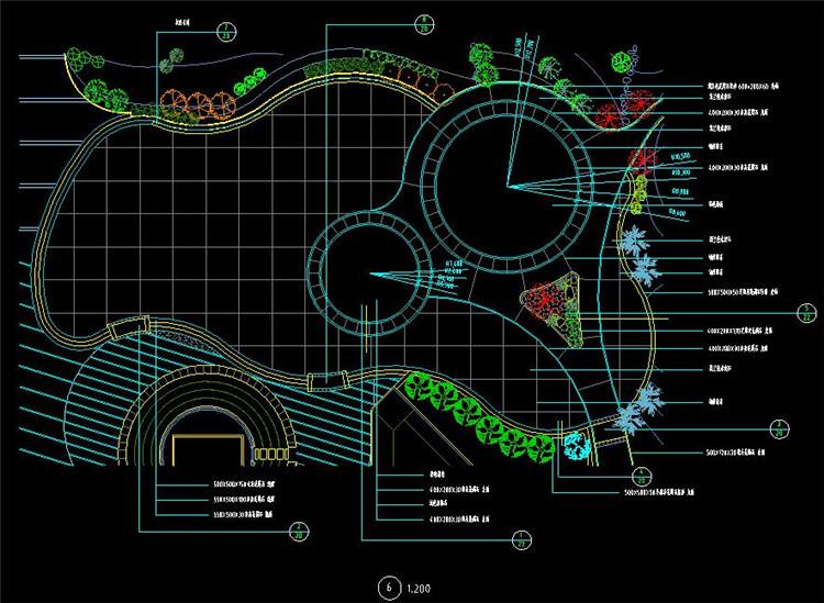 13广场水景施工图
