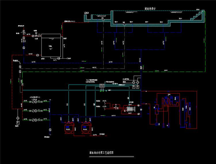 13游泳池细部构造图